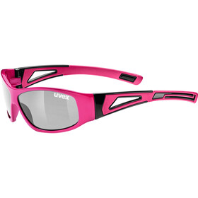 UVEX Sportstyle 509 Brillenglas Kinderen, pink/ltm.silver